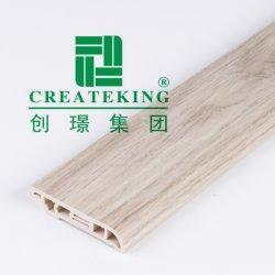 6cm de altura superficie plana Vinly pavimentos PVC Rodapié