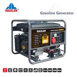 Hailin China 192f Generators van de Benzine van het Begin van de Macht van 7.5 KW kVA de Reserve Draagbare Elektrische voor Huis