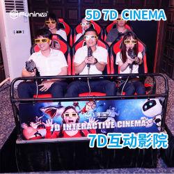 Prefabricated 오두막을%s 가진 옥외 포켓 4D 5D 6D 7D 영화관