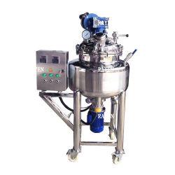 1000Lガロンのステンレス鋼の真空の蒸気の電気暖房および冷却の二重Jacketed老化の発酵リアクター記憶混合タンク