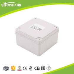Custom 125*125*75 Outdoor étanches IP67 Commutateur de boîtier de connexion de raccordement du câble d'alimentation Boîte de jonction en plastique transparent