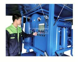 9000lph usina de purificação do óleo isolante do transformador no local para manutenção do óleo