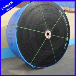 Anti-Abrasion Convoyeur à courroie en caoutchouc résistant à la chaleur dans le ciment/l'industrie métallurgique et de l'acier
