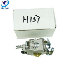 Professional H137 de l'essence carburateur de scie à chaîne