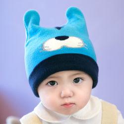 Câble pour les enfants d'hiver bébé Chapeaux Chapeaux de tricot Cute Infant Toddler Beanies avec des oreilles