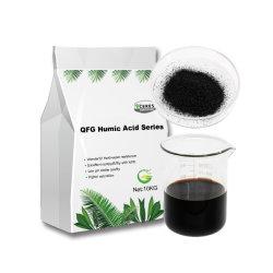 Source minérale d'engrais organique soluble de la poudre d'acide fulvique