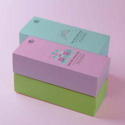 La couleur bleue des tiroirs de papier personnalisé Type boîte cadeau