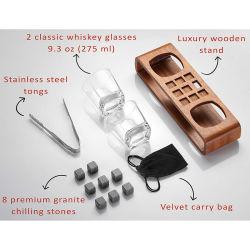 Cassetto Handmade del vino della visualizzazione del whisky per regalo del padre degli uomini il migliore