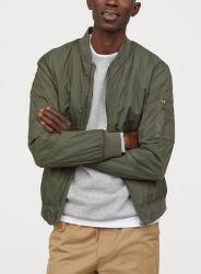 Marca personalizada Bombardero Mujer chaquetas Sport de desgaste con zip