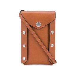 Мода в стиле ретро дамы PU Crossbody мобильному телефону держателя подушки безопасности