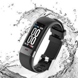 Écran couleur de l'ECG+ PPG Smart Bracelet l'étape de la fréquence cardiaque ECG ECG de détection de la pression artérielle+PPG Bracelet intelligent de mesure