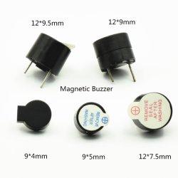12 * 7.5mm magnetisches Tonsignal 5V 12V Gleichstrom 12075 Pin-Tonsignal für elektronische Produkte