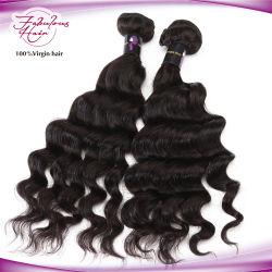 Мгновенной доставки верхнего фиксатора в ослабленных волос вьющихся волос человека Weft Малайзии