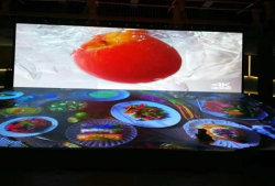 Новый кабинет 16: 9 крытый P1.5 полноцветный светодиодный экран рекламы