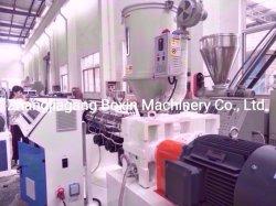PP PE câble en plastique de protection en PVC souple du tube du tuyau de la ligne de production d'extrusion de l'extrudeuse