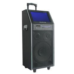 Televisor HD DVD Player Portátil de Karaoke Curta KTV alto-falante