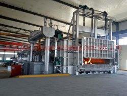 Varilla de aluminio de fundición continua y la línea de laminación