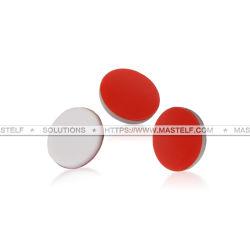 setto di 8X1.3mm PTFE nel colore rosso misura su 8-425 fiale