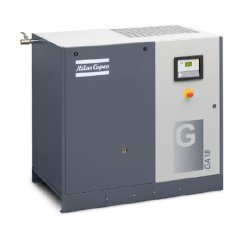 برغي مفرد لضاغط الهواء ذو السرعة المتغيرة GA أعلى التصنيف مروحة صناعية 4 بار 22 كيلو واط/30HP خالية من الزيت لمنسوجات غير منسوجة