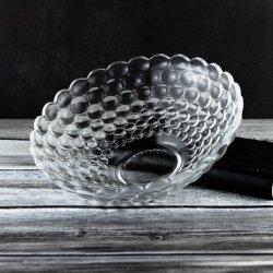 Venda a quente a alta Material Branco Limpar vidro de exposição para Fruit&Cookie&Candy copos (W76233)