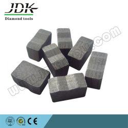 Tipo de ranhura para o corte do segmento de ferramentas de diamante em granito espanhol