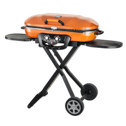Outdoor Camping pliable portable Barbecue à gaz Barbecue
