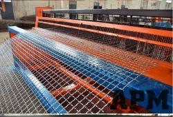 تم تصدير غربال شبكي مغلفن مغلفن مقاس 2,0 مم مغلفن مغلفن السلك المتموّج إلى ميانمار
