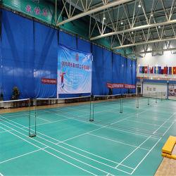 Prix de gros Sport Extérieur résistant aux UV PVC Flooring Badminton Rouleau de revêtement de sol