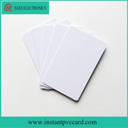Cartão de PVC para impressão a jato de tinta impermeável