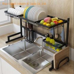 Reihe-Tellerständer Küche-Gerät-Haltertrocknender des Drainer-Speicher-Regal-trockenere Platten-Organisator-2