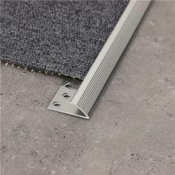 Ню-Юань алюминиевый профиль для облицовки плиткой коврик пола с переходной экономикой края зажимов фитинги