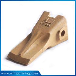 スチールフォージ鋳造バケット油圧ショベル用鍛造バケットツース部品