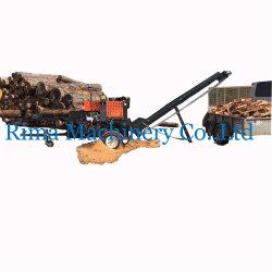 La memoria RAM de 12 toneladas de gas/gasolina/eléctrica/potencia del motor del tractor Maquinaria madera Horizontal hidráulica Máquina de corte/log /Log Splitter