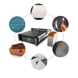 Cuir canapé Tissu chiffon de la machine de découpe ronde Machine de découpe de couteau de faire un jouet en peluche