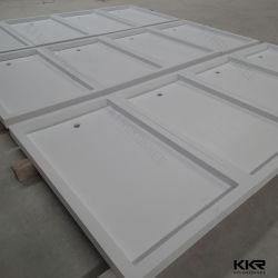 A Kkr Customized Superfície sólida base de chuveiro banho de chuveiro para Hotel