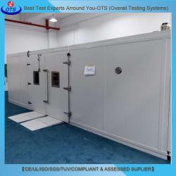 Camera climatica con l'alloggiamento montato Walk-in della prova di umidità di temperatura del dinamometro