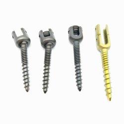Implantes ortopédicos, instrumento médico de la columna vertebral La columna vertebral, Tornillos de Titanio