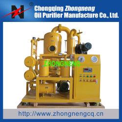 Doppio strumentazione utilizzata di depurazione di olio del trasformatore della fase invecchiamento