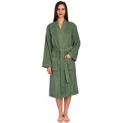 نساء يوميّة قطن [هومويهر] [ترّي] قطعة قماش [كيمونو] رداء حمام