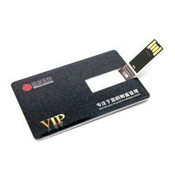 Azionamento 128MB dell'istantaneo del USB della carta di credito con stampa libera di marchio (TF-0422)