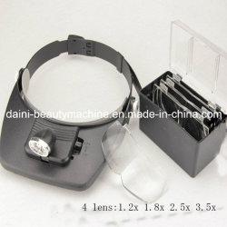 Hoofdband Vergrootglas LED-lampen
