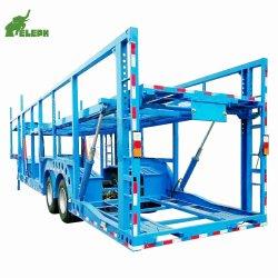Transportador do veículo transportador de automóveis semi reboque para transporte