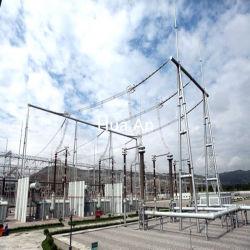 Acier galvanisé à chaud Self-Support des structures tubulaires de transmission et de postes électriques