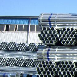 ASTM A53 BS138 Size ser rodada rígida galvanizados a quente de aço Tubo Gi / S235jr Estrutura Tubo soldado galvanizado o tubo de líquido Pre-Galvanized Tubo de Aço