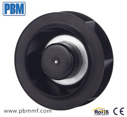 ventilatore centrifugo in-linea indietro curvo di CC di 190mm