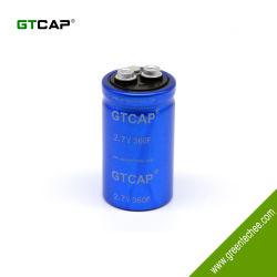 Terminal나사 에서를 가진 GTCAP 2.7V 360F Cell Super Capacitor