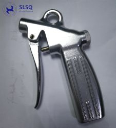 Le parti di alluminio di pezzo fucinato e lavorato montano il fucile ad aria compressa pneumatico degli strumenti