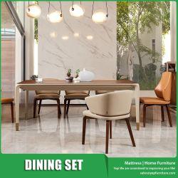 Eenvoudige het Dineren van de Stijl van de Luxe Italiaanse Vastgestelde Eettafel met 8 Stoelen