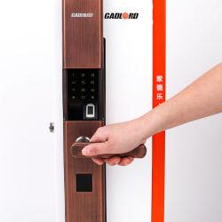 Acesso electrónico de alta qualidade do Sistema de Controle Eletrônico da tampa da fechadura da porta de impressão digital Magnético Lxz16