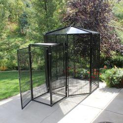 Back Yard Bird cages en acier Avaiary, d'oiseaux volière Cages de vol